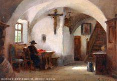 EW 0057 – Interieur mit Frau am Fenster