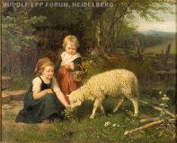 EW 0078 – Zwei Kinder mit Schaf