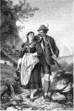 "EW 0082 – Jäger mit junger Frau (""Am Brunnen"")"