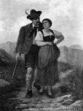 EW 0135 – Jäger mit junger Frau