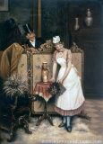 EW 0138 – Szene mit Hausmädchen und Herrn