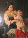 """EW 0146 – Mutter mit Kind (""""Fröhliches Erwachen"""")"""
