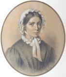 EW 0458 – Junge Frau mit weißer Haube