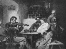 EW 0485 – Geigenspieler in der Stube