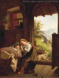 EW 0005 – Schlafende Kinder an offener Tür