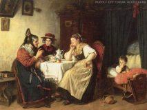 "EW 0019 – Drei Frauen beim Kaffee (""Kaffeevisite"")"