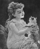 EW 0026 – Mädchen mit Katze