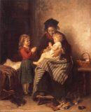 EW 0041 – Großmutter mit zwei Kindern