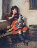 EW 0048 – Mädchen mit Katze und Maikäfer