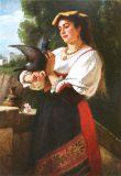EW 0061 – Italienerin mit Taube
