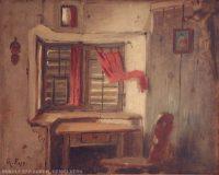 EW 0084 – Interieur einer Bauernstube
