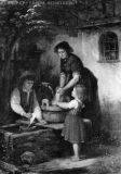 EW 0132 – Mutter mit zwei Kindern am Brunnen