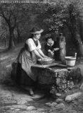 EW 0133 – Mutter mit Kind am Brunnen