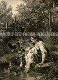 EW 0134 – Mutter mit Kind am Ufer