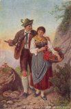 EW 0137 – Jäger mit junger Frau