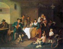 EW 0140 – Stube mit gaukelnden Kindern vor Publikum