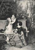 EW 0162 – Mutter mit zwei Kindern auf Parkbank