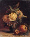 EW 0225 – Stillleben mit Rosen und Früchten