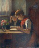 EW 0239 – Zwei lesende Mädchen