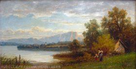 EW 0247 – Oberbayerische Landschaft mit See