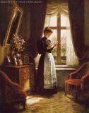 EW 0277 – Lesende Dame am Fenster