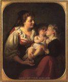 EW 0307 – Mutter mit zwei Kindern
