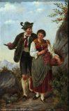 EW 0315 – Jäger mit junger Frau