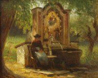 EW 0321 – Frau am Marienbrunnen