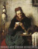 EW 0336 – Alte Frau mit Katze