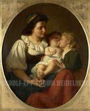 EW 0359 – Mutter mit zwei Kindern