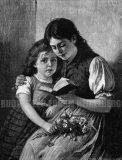 EW 0391 – Zwei lesende Mädchen