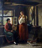 EW 0398 – Zwei Frauen am Fenster