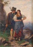EW 0402 – Jäger mit junger Frau