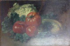 EW 0454 – Stillleben mit Tomaten und Kohl