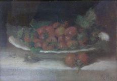 EW 0456 – Stillleben mit Erdbeeren und Kohl