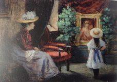 EW 0469 – Frau mit Kind im Zimmer
