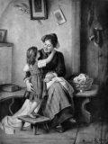 """EW 0488 – Mutter mit Kind (""""Hast du mich lieb?"""")"""