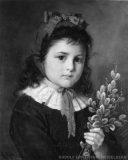EW 0115 – Kinderbildnis mit Palmkätzchen