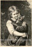 EW 0158 – Mädchen mit Katze