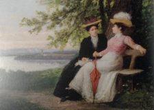EW 0452 – Zwei Damen am See