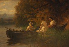 EW 0493 – Drei Damen am See